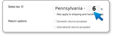 Sales Tax Pennsylvania